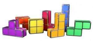 Tetris Lampe Steine