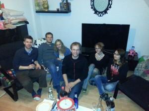 Party bei Lena