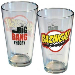 Big Bang Theory Bazinga Glas