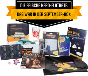 Inhalt der September-Lootbox von getDigital