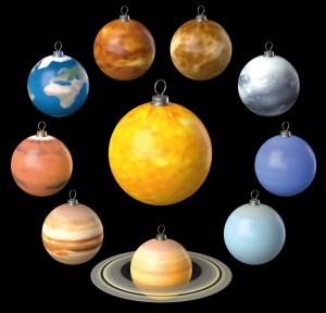 Unsere 9 Planeten und die Sonne