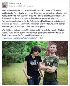 Facebook-Posting