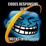 Fehler im Internet Explorer kleiner Version 10 bitte ignorieren :(